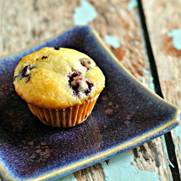 BAM! Blueberry Mini-Muffins • Loaves and Dishes