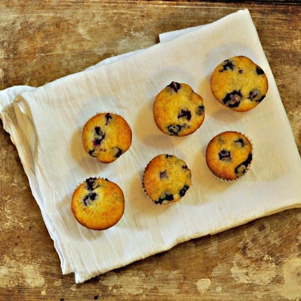Bam Blueberry Muffins loavesanddishes.net