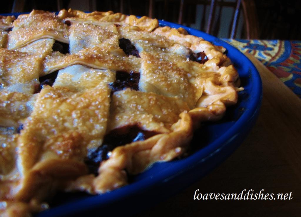 Delicious Blueberry BAZINGA Pie