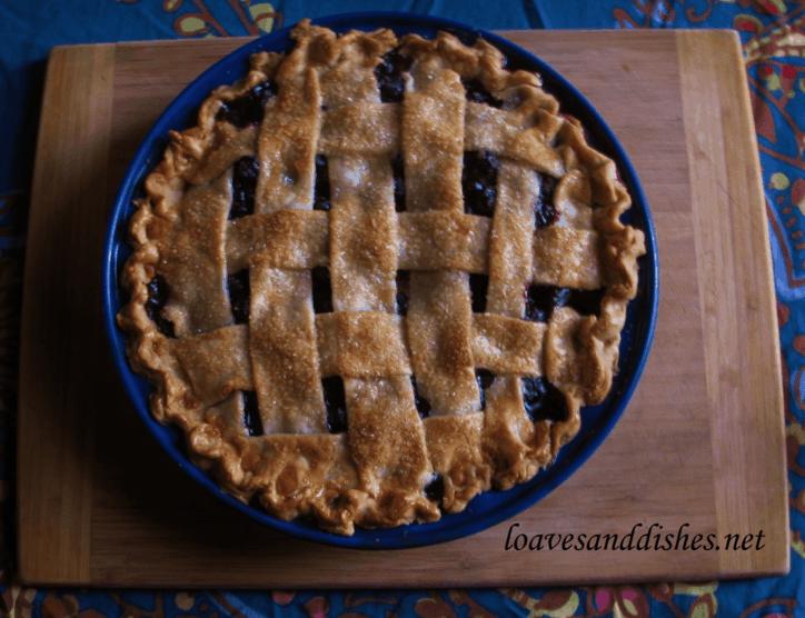 Blueberry BAZINGA Pie