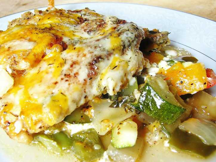 Easy Chicken and Veggies