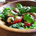 Amazing Arugula Caprese Salad