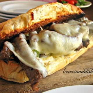 Easy Steak and Cheese Sandwich