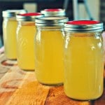 Easy Chicken Stock @loavesanddishes.net 1