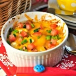 Hot Cheesy Bacon Party Dip