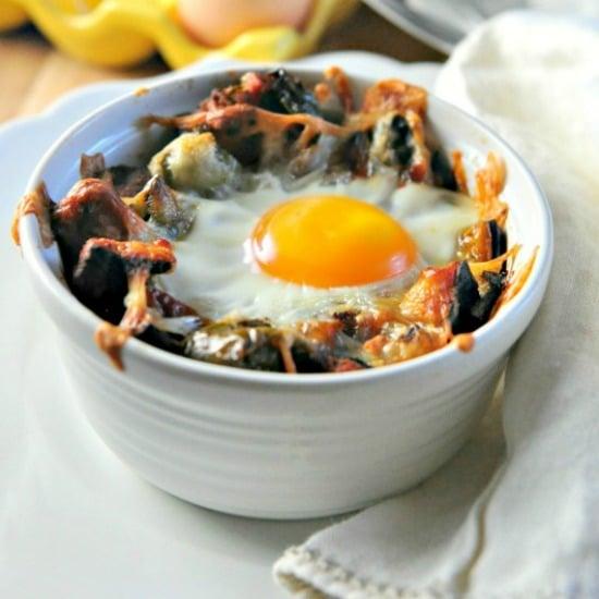 Sweet Potato Hashbrown Breakfast Bake 3 @loavesanddishes.net 550