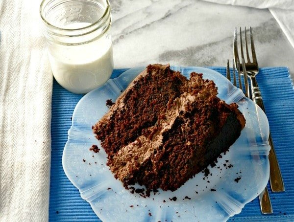 The Chocolate Cake @loavesanddishes.net