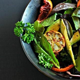 Roasted Orange and Lemon Salad