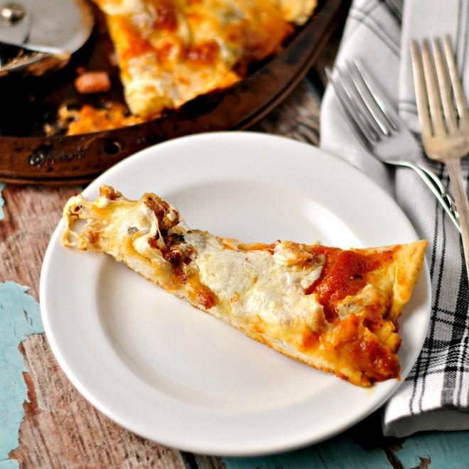Snow Day Pizza @loavesanddishes.net