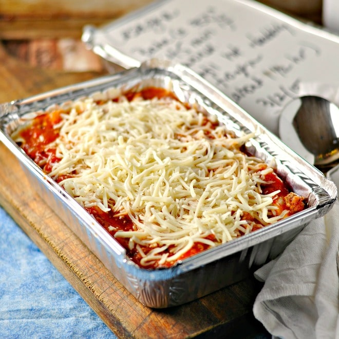 Easy gift lasagna loaves and dishes easy gift lasagna loavesanddishes forumfinder Images