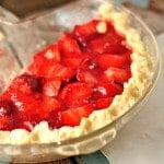 Easy Homemade Strawberry Pie @loavesanddishes.net