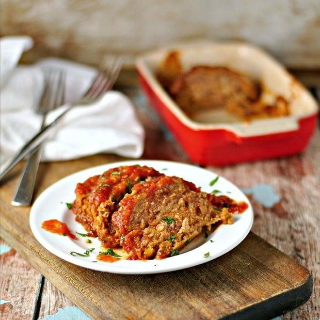 Easy Tasty Meatloaf @loavesanddishes.net