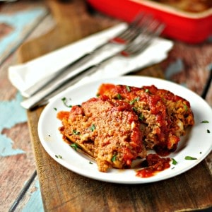 Easy Tasty Meatloaf @loavesanddishes.net