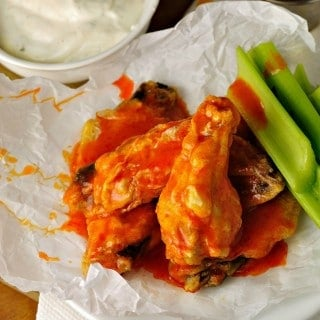 Healthier Baked Chicken Wings