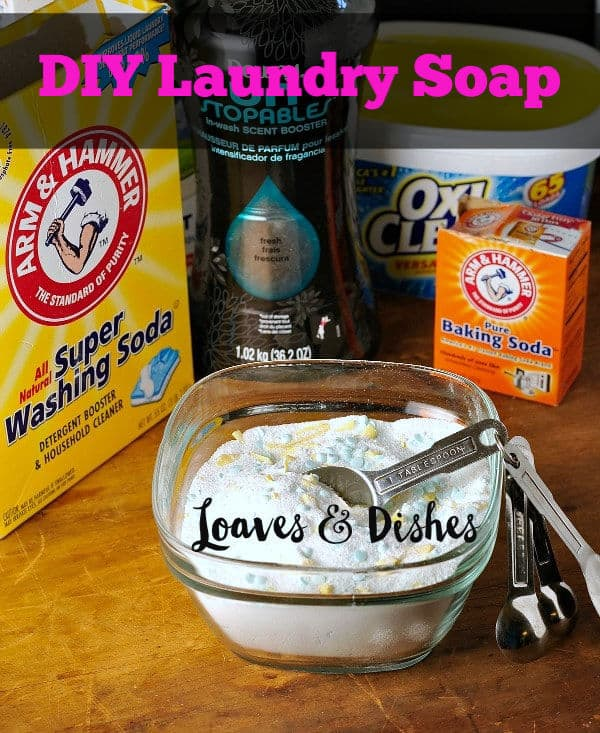 How to make your own terrific laundry soap. This post gives you all of the ingredients and how to's so that you'll be on your way to making your own terrific laundry soap #DIYlaundrysoap #DIYsoap #makeyourown