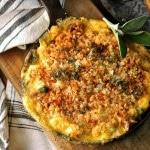 Chicken Casserole with Peas and Mushrooms