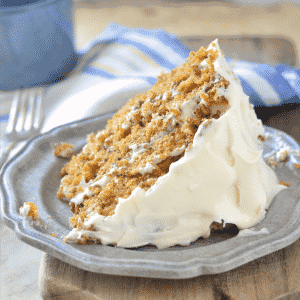 Southern Carrot Cake with Cream Cheese Icing