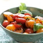 Summer Cherry Tomato Salad