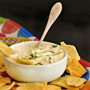 Sharp Cheese Dip @loavesanddishes.net