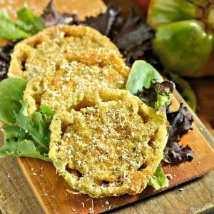fried green tomato @loavesanddishes.net