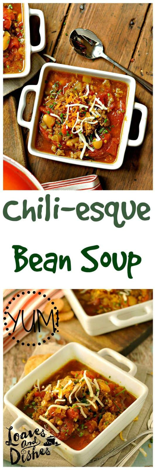 Need an AWESOME chili recipe? Thought so! Try this one! GIVEAWAY also. www.loavesanddishes.net