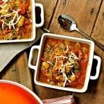 Chili-esque Bean Soup and CROCKTOBER CROCKPOT GIVEAWAY
