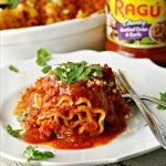 Chorizo Mouth Party Lasagna Rolls