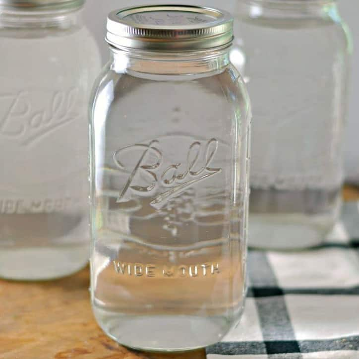 How to Can water for emergencies @loavesanddishes.net