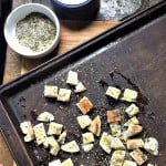 how to make croutons from italian bread