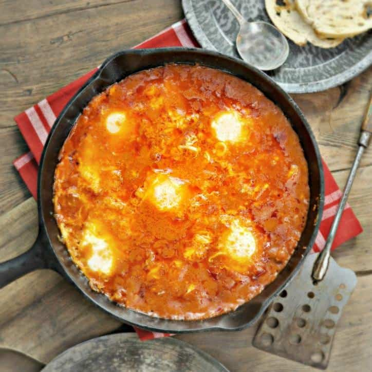 Eggs in Purgatory www.loavesanddishes.net