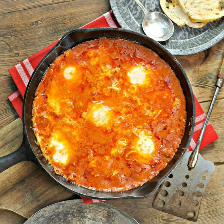 Eggs in Purgatory www.loavesanddishes.net