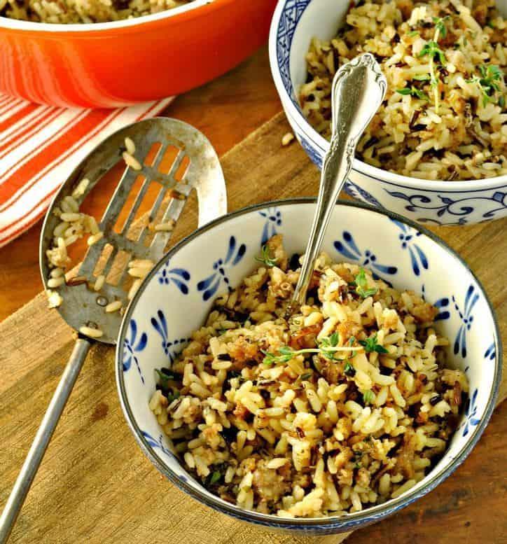 Sausage and Rice 2 760 www.loavesanddishes.net