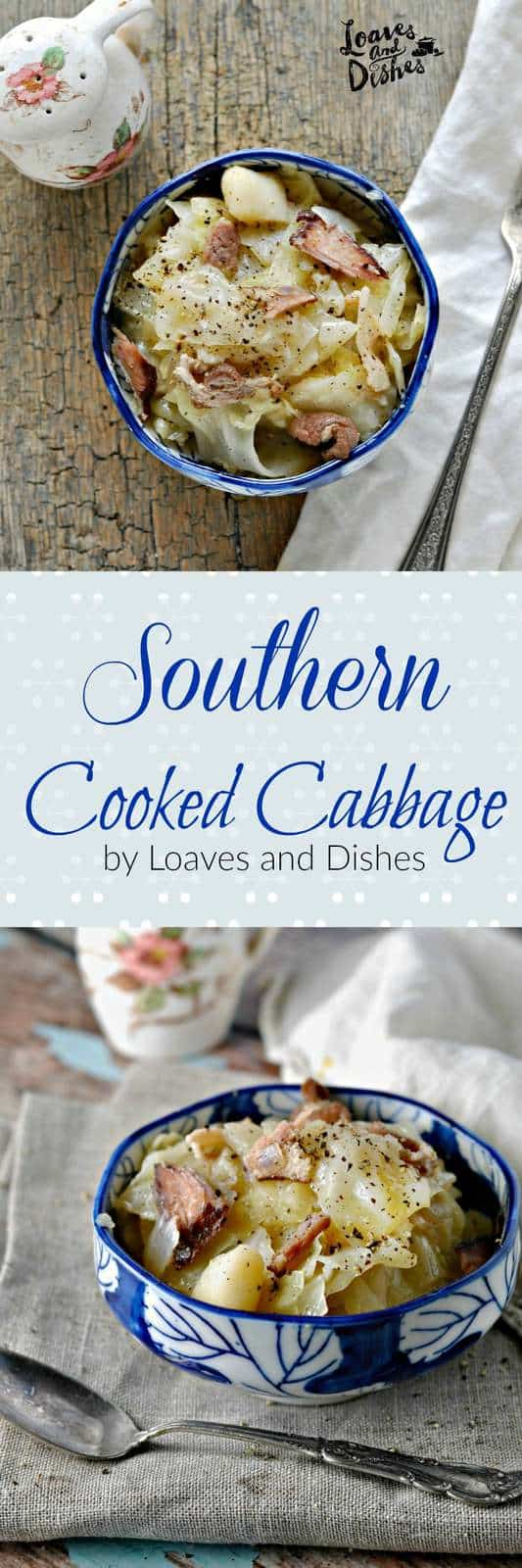 Delicious Deep South Southern Home Cooking the way your Mama and Grandmama did - or at least the way you wished they did.  Easy recipe. Simple Instructions for Stewed Cabbage, Fried Cabbage, Cooked Cabbage