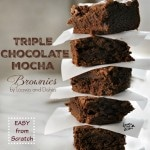 Triple Chocolate Mocha Brownie Nestle Toll House