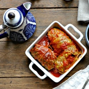 Stuffed Cabbage or Cabbage Rolls