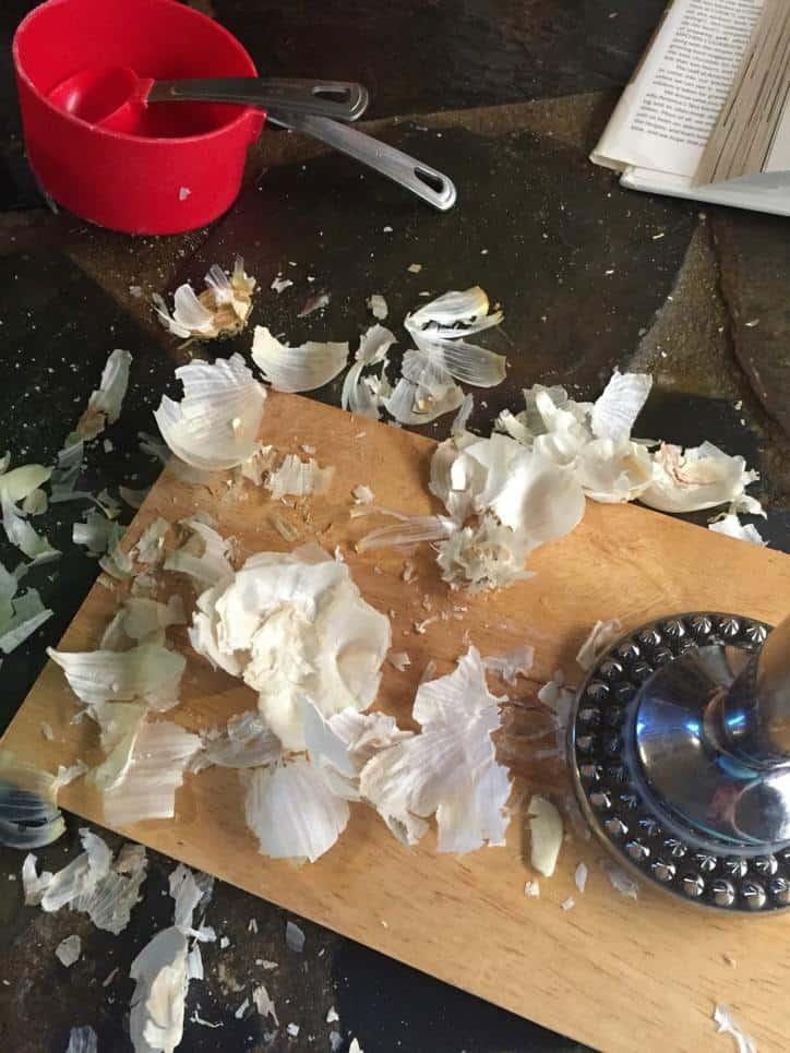 Smashing the Garlic