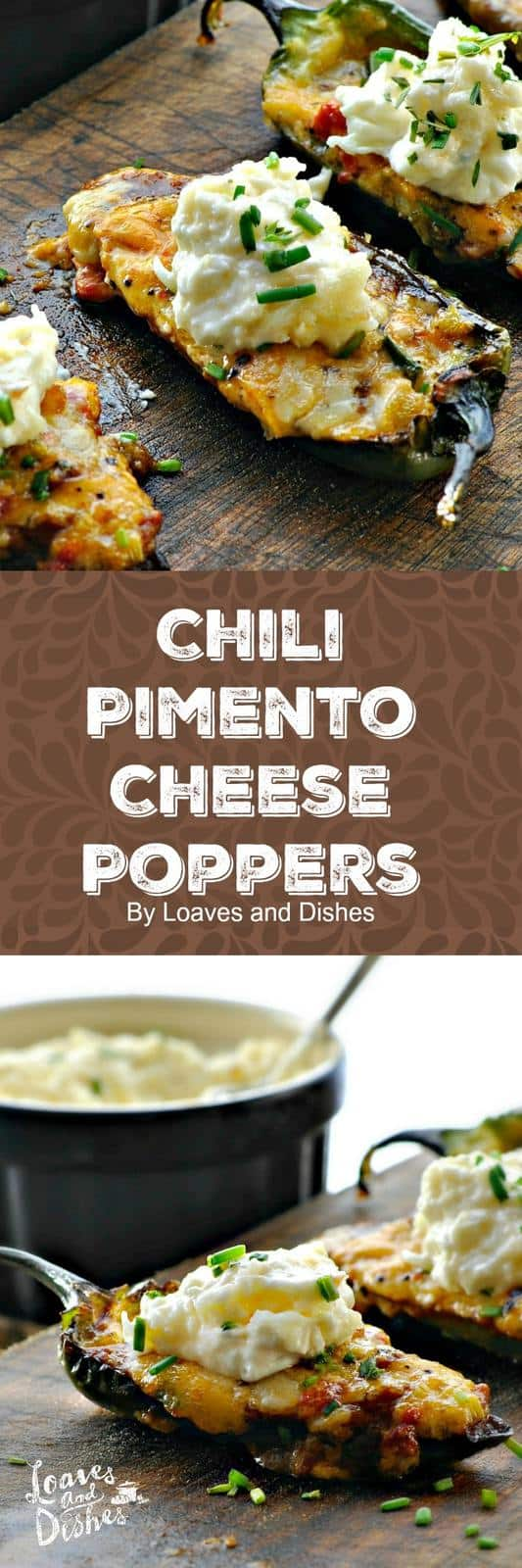 Do you need a FABULOUS Game Day Recipe that comes together in 10 minutes and then bakes for 15 - then DONE? Sure you do! Try these SUPER Game Day Chili Pimento Cheese Poppers! Easy. #ad. COUPON on post!