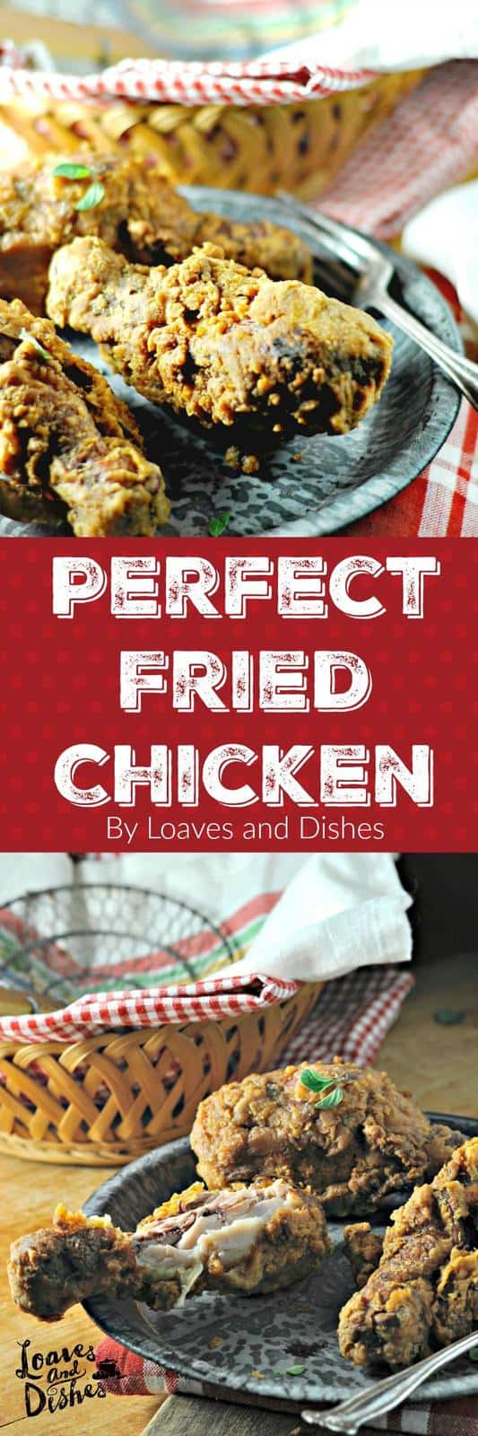 This is the right recipe for perfect restaurant style fried chicken at home - easy - but does take some time. Perfect Fried Chicken Every single time.