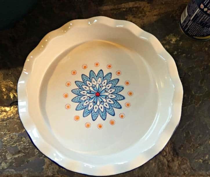 plain pie plate
