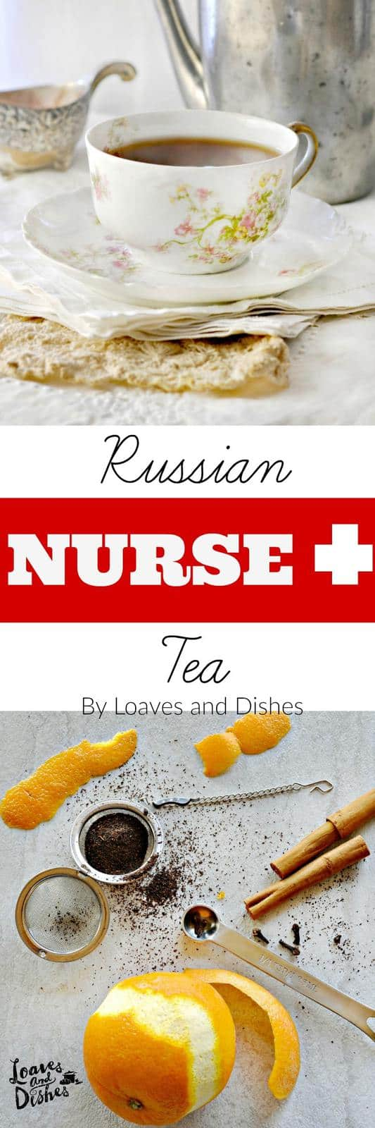 Simple recipe for easy Russian Tea that you can make yourself at home. Not at all like the 1970's Russian Tea. Lovely lite taste.