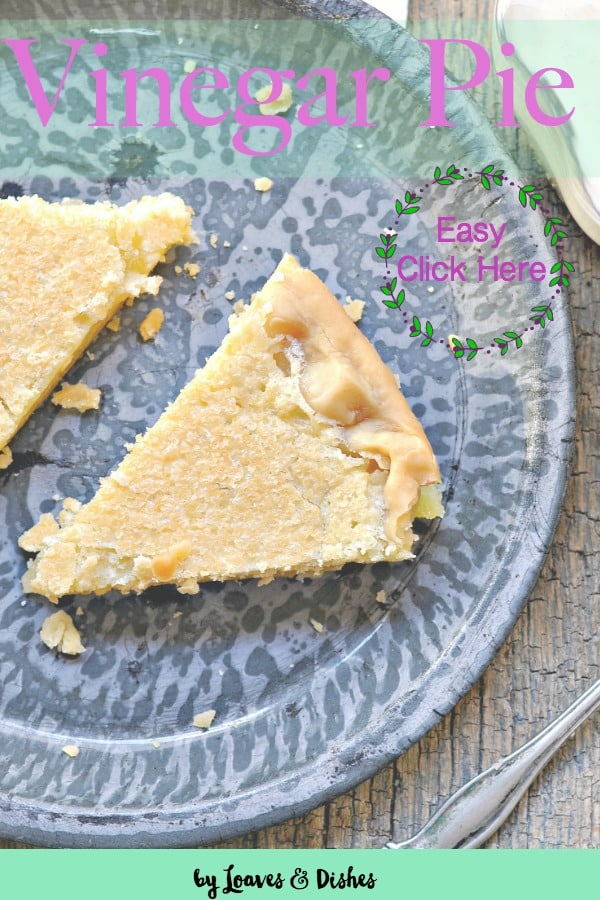 An easy chess type pie that makes use of typical kitchen ingredients.  Like something Pioneer Woman or Paula Deen would make. Uses Apple Cider Vinegar with a store bought crust. Ree Drumond #vinegarpie #whatisvinegarpie #simplepie