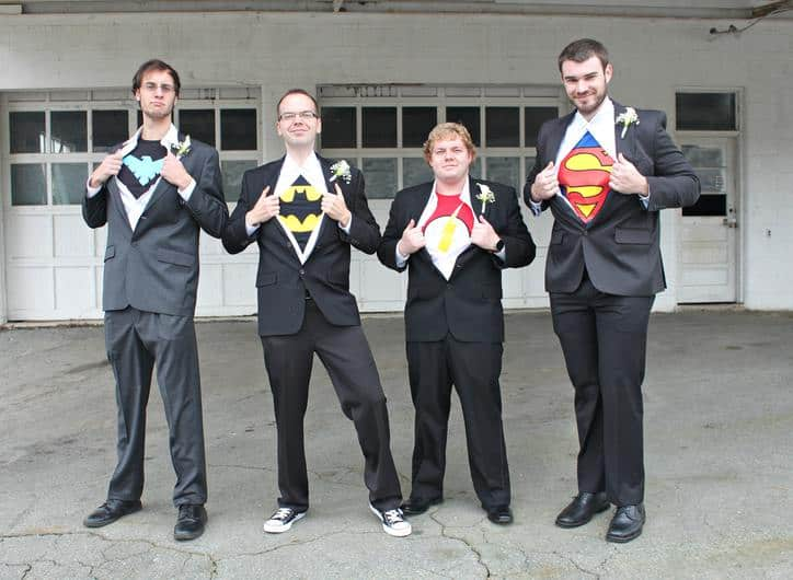Super Heroes! PHOTO CREDIT ANN VERNON