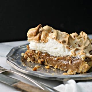 Old Fashion Butterscotch Pie