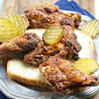 Nashville Hot Chicken Wings