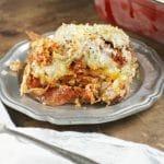 Pepperoni Meatball Sub Casserole