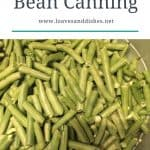 Easy Green Bean Canning