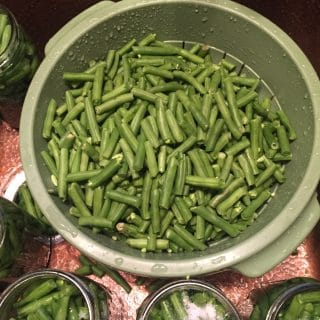 EASY GREEN BEAN CANNING FOR BUSY PEOPLE