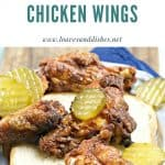Baked Nashville Hot Chicken wings perfect for tailgating at your next game! Easy - just bake and out the door you go.