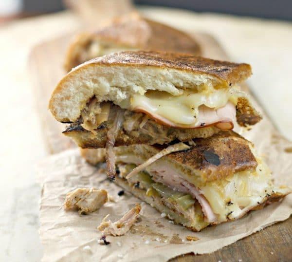 Slow Cooked Crock Pot Cuban Sandwich