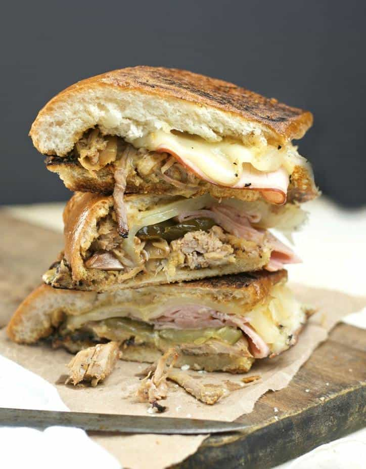 Slow Cooked Crock Pot Cuban Sandwich